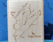 YUBA RIVER Map Fly Box -H...