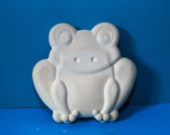 Frog | Children's Room | Wall Relief | Relief | Plaster · Deco | Plaster · Shabby