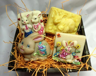 Bunny Lovers Soap Gift Set