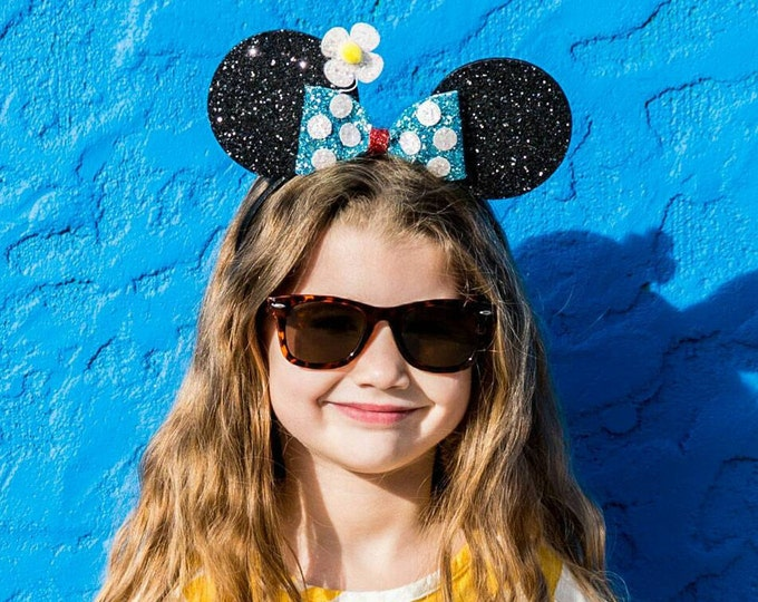 Classic Minnie Mouse Ears Headband | Minnie Mouse Birthday | Minnie Mouse Headband | Minnie Ears