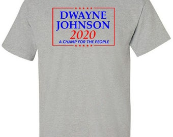 Dwayne Johnson Campaign T-Shirt