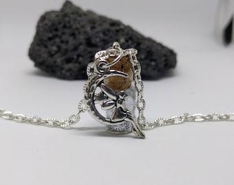 Fairy Glitter Necklace   Glitter Necklace   Fairy Necklace   Fairy Jewelry   Gold Glitter   Dainty Necklaces   Celestial Jewelry