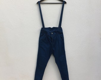 OVERALL SKINNY JEANS - strap can be removed