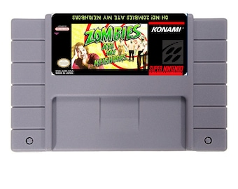 Zombies Ate My Neighbors 16 Bit SNES reproduction Game Card For NTSC/PAL free sshipping !!!