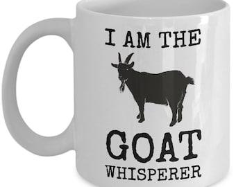 Goat Whisperer Mug Homesteading Gift Coffee Cup