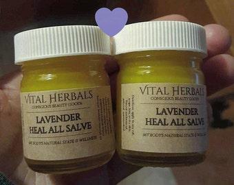 Lavender heal all salve