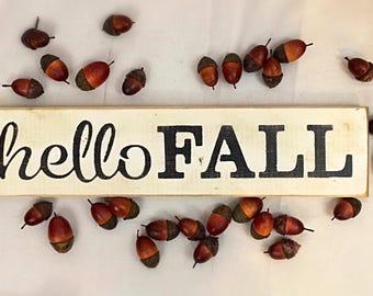 Fall sign, fall decor, home decor, wall decor, wooden fall sign