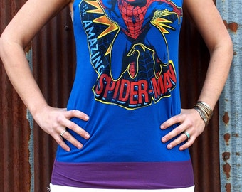 Marvel Spiderman T-Dress Size M