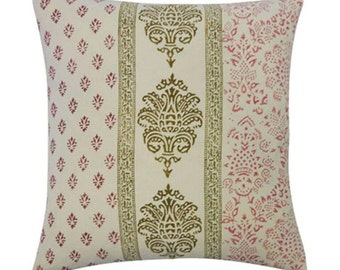 Wine Vertical Stamp Pillow
