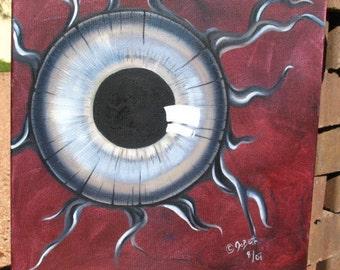 OCULUS~Surreal Oil Painting on Deep Canvas - Original Work by JoBeth Sexton