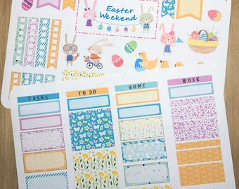 Easter Fun Weekly Planner Stickers for IWP, EC and most other planners