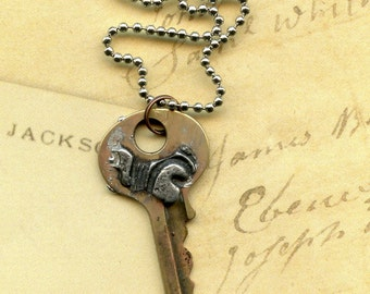 Key to Life Necklace with Simply Sublime Brass
