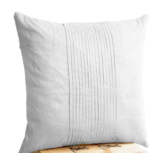 in ripple cover white pillow christmas listing il july pintuck silk