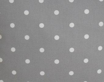 Placemat Grey and White Polka Dots Silver Gray Polkadot Dot Spotted Spots