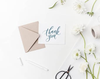 thank you / thanks card