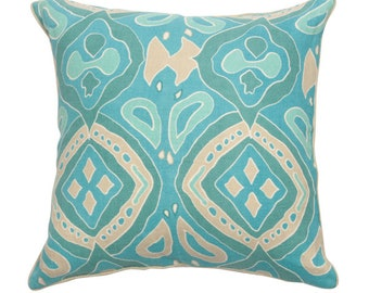Brianna Pillow - Turquoise