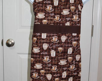 Child's Mocha Coffee Apron