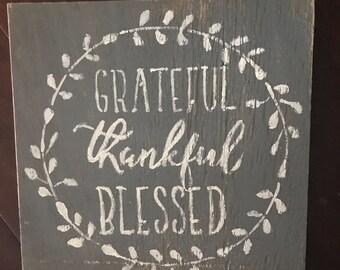 Grateful blessed