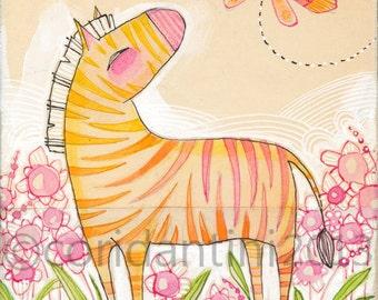 Jungle nursery artwork for children. Kids wall art, zoo animal prints Safari nursery theme artwork by cori dantini