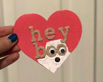 Hey Boo! Halloween card