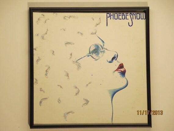 Glittered Record Album - Phoebe Snow