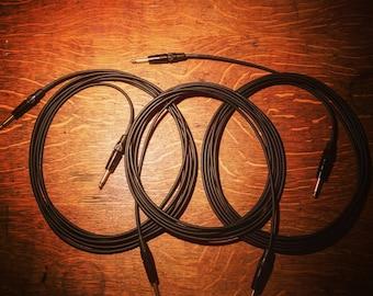 """High Quality Instrument Cable 18' Length, Mogami/Neutrik 1/4"""""""