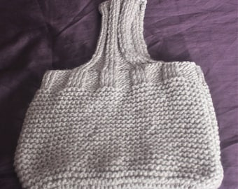 Chunky Knitted bag