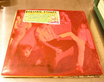 The Rolling Stones Dirty Work 1986 Original Vintage Vinyl on Rolling Stones Records not in shrink
