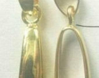 20-Large Gold Pendant Bails--20x9mm-FREE 25 clasps(4B10)