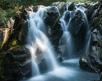 Paradise River Falls Image, waterfall photo, Landscape image