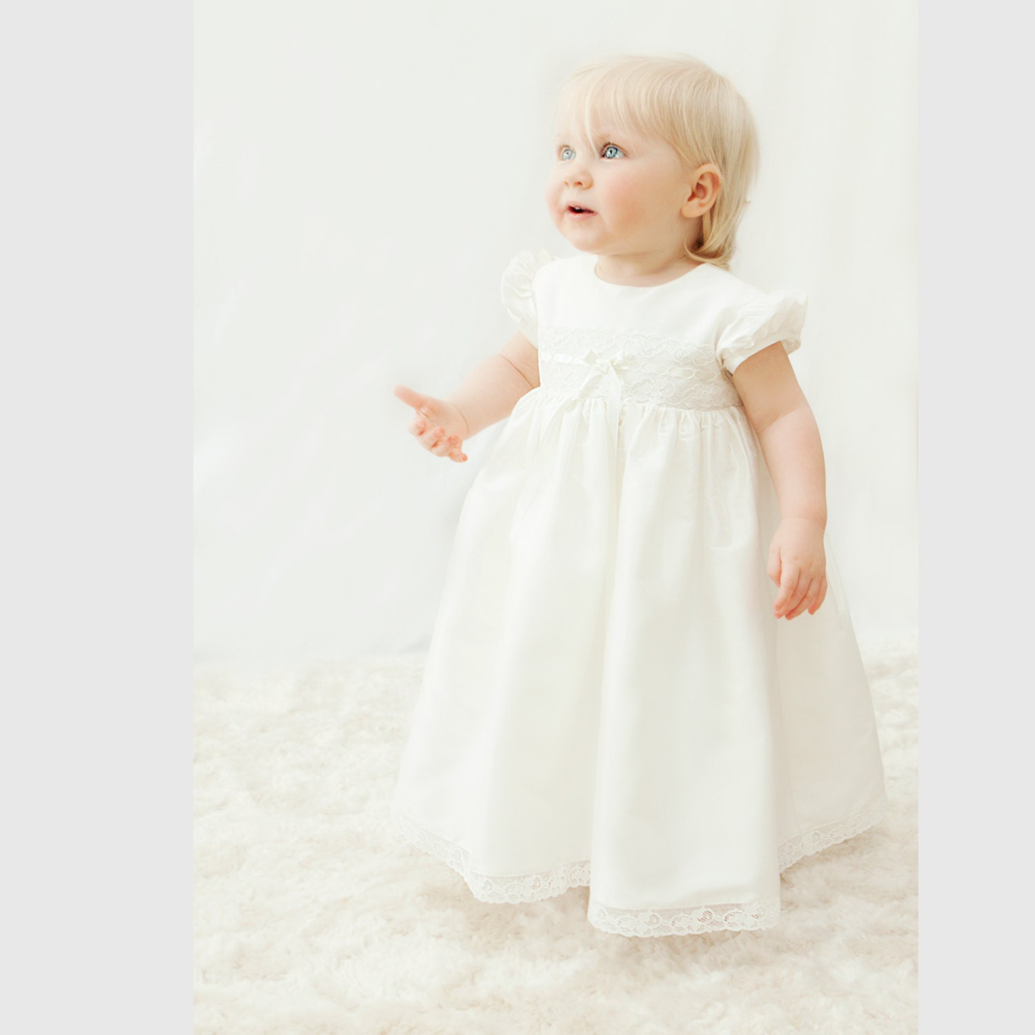 Christening Dress Violet by Adore Baby Baptism
