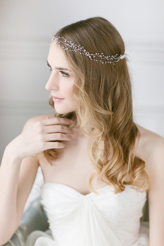 wedding hair vine pearl hair vine wedding hair accessories