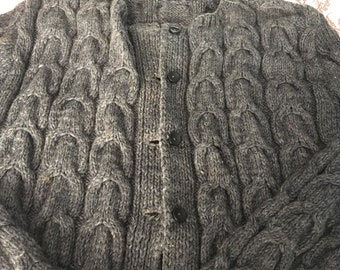 Misses cabled sweater