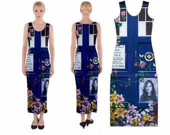 Let Me Be Brave - Doctor Who Maxi Dress