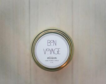 Bon Voyage travel candle - 6 oz.