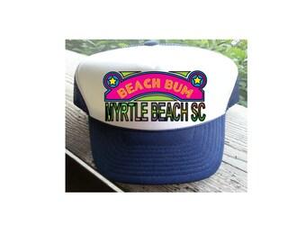 BEACH BUM HAT.