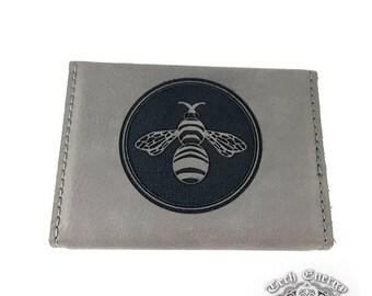 Customizable Laser Engraved - Hard Card Case