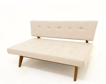 Mid Century Style Love Seat