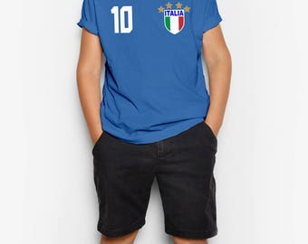 Italy Soccer Jersey - GIFT FOR KIDS