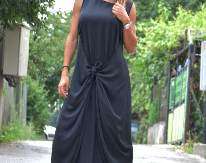 Womens Elegant Sexy Dress, Plus Size Maxi Dress, Open Back Dress, Extravagant Long Dress by SSDfashion