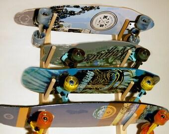 Skateboard Wall Rack for 4 boards