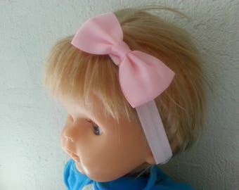 This headband from birth to 3 years pink