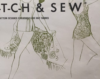 Vintage 1970s Bathing Suit Pattern by Ann Person