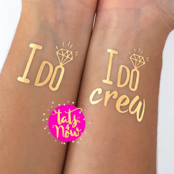 I do crew + I do gold tattoos