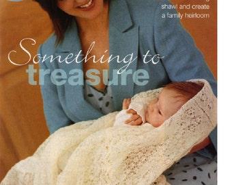 BABY Knitting Pattern - Shawl Heirloom  - Traditional Cobweb Shetland Lace shawl