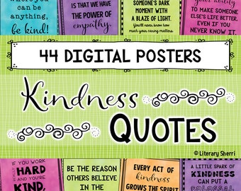 Kindness and Compassion Quotes - Banners