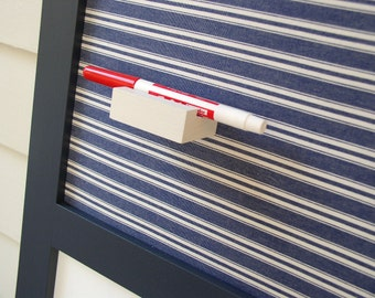Magnetic Wood Dry Erase Pen Marker Holder - Refrigerator or Magnet Board Accessory to Hold Your Marker or Chalk Pen or Chalk