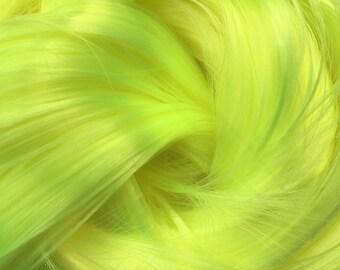 Sonic Lime Nylon Doll Hair