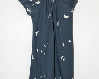 Birds in the Sky Child Peasant Dress/Tunic