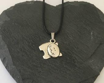 Children's cat necklace / children's animal jewellery / cat lover gift / pet jewellery / animal jewellery / animal lover gift